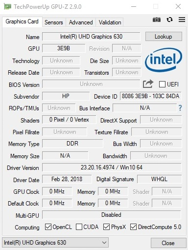 HP Omen 15 (i5-8300H, GTX 1050 Ti, FHD) Laptop Review