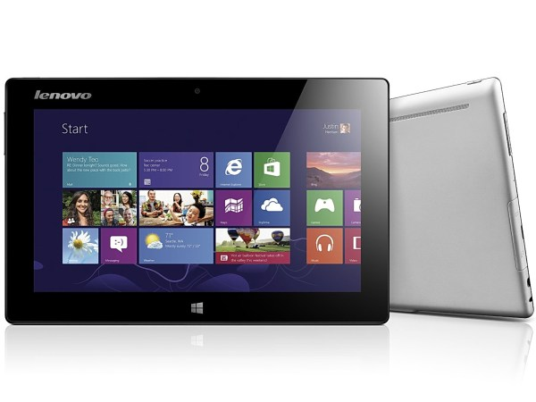 Lenovo Announces Miix Tablet And Touch-enabled