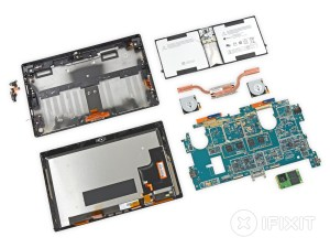 Microsoft Surface Pro 2 fares poorly in iFixit teardown