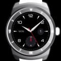 Lg g watch round smartwatch with compass distance meter and digital