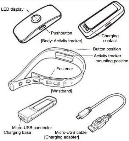 Toshiba activity tracker spotted at the FCC