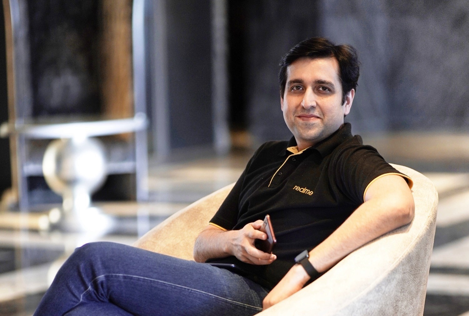 Interview with Madhav Sheth: CEO of Realme comments on 2 MP cameras for smartphones, box chargers and more