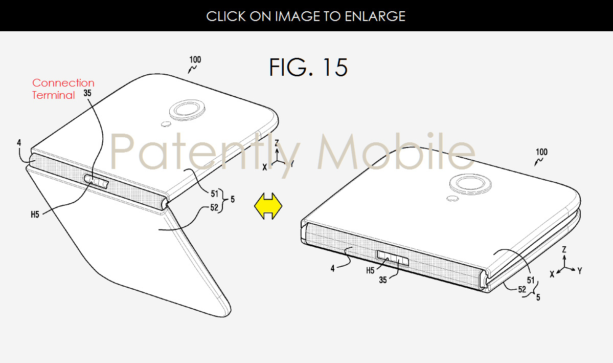 More Samsung patents on foldable devices emerge