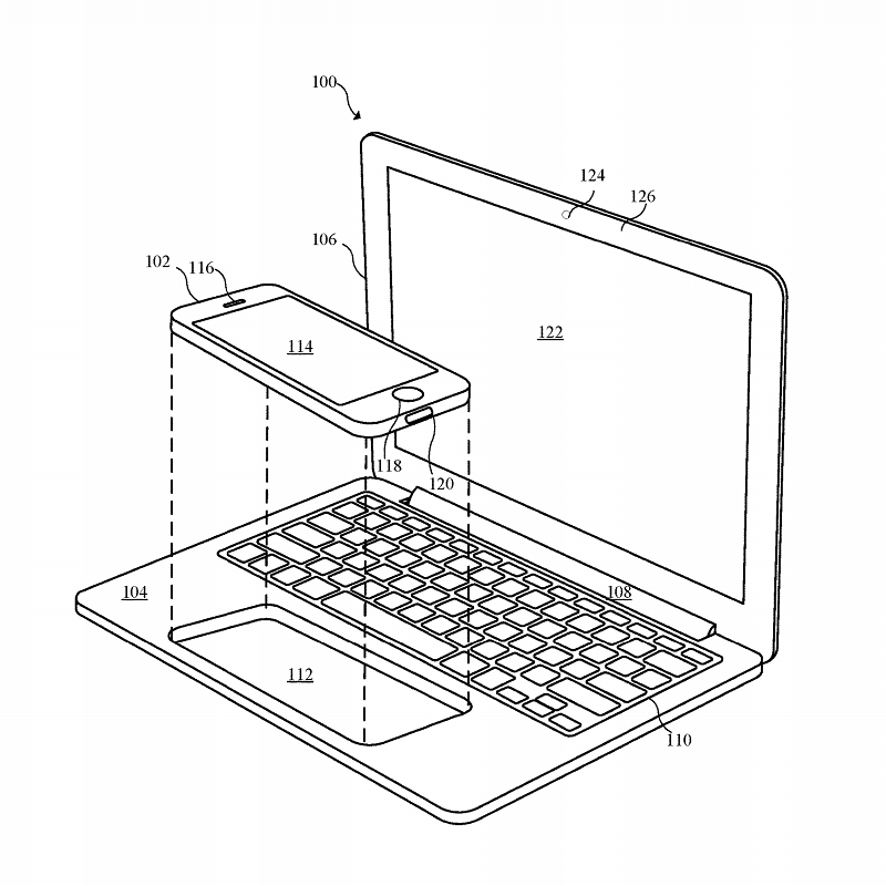 Apple patents designs for iPhone and iPad laptop docks