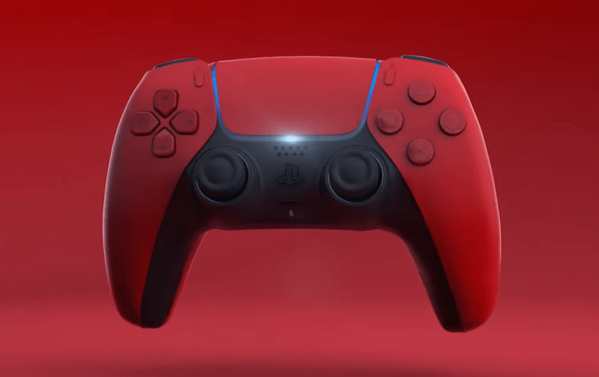 Ps5 Design Black And Red