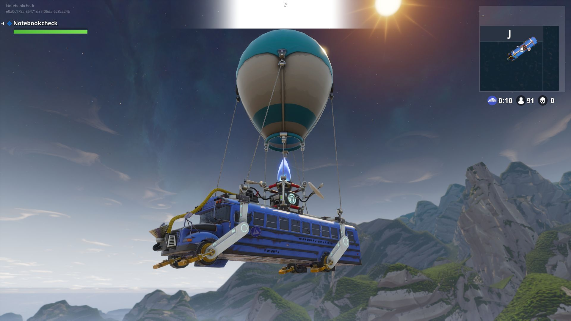 Fortnite Wallpaper Falling From The Sky Fortnite Notebook And Desktop Benchmarks Notebookcheck