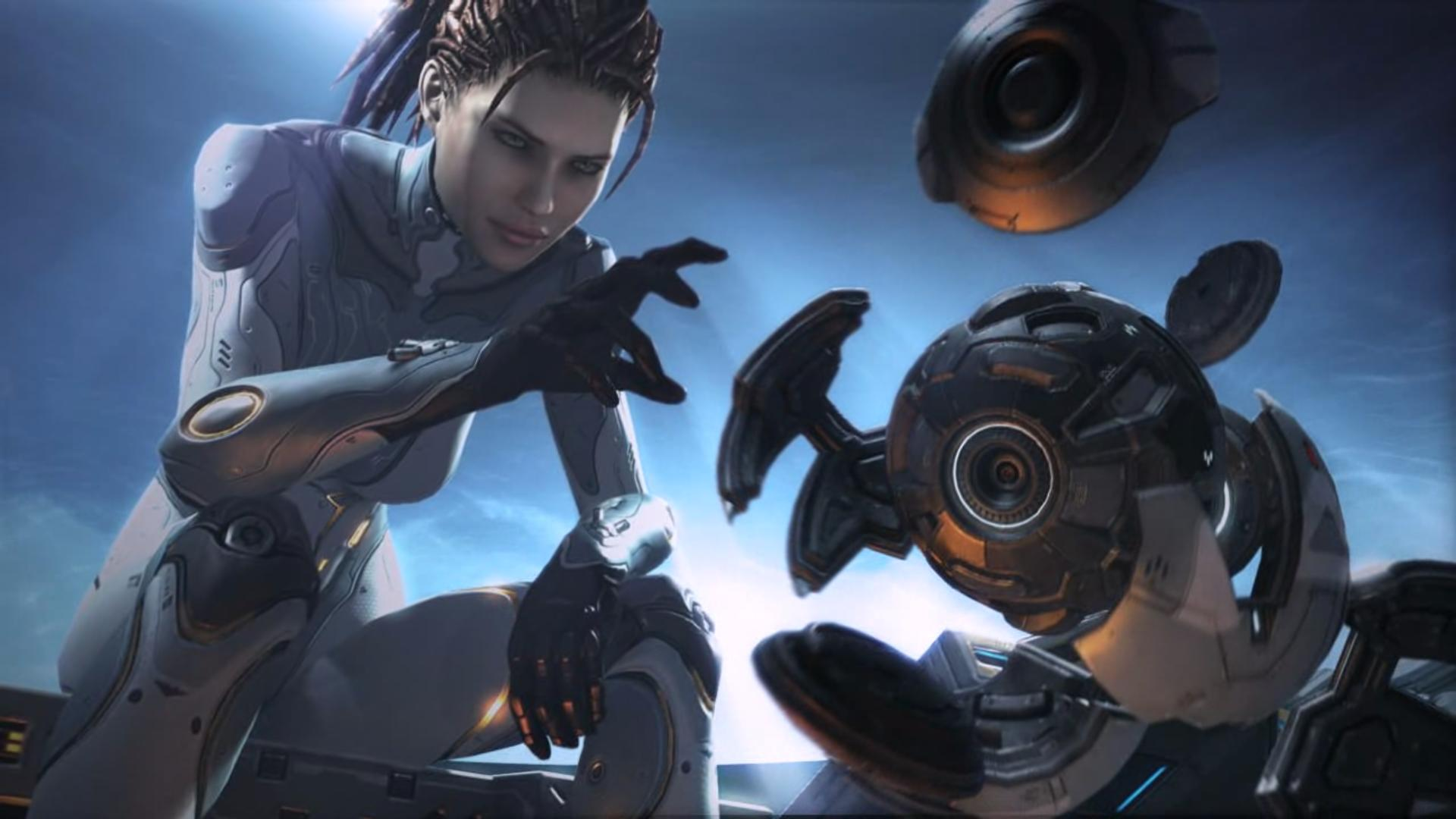 Awesome Wallpapers Girl Sniper Starcraft Ii Heart Of The Swarm Benchmarked