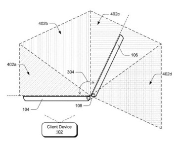Fresh MS Surface Phone / Andromeda patent surfaces