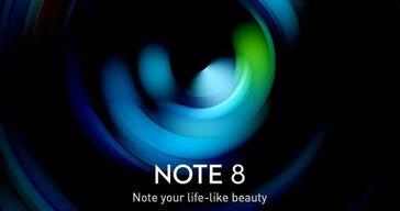 "More ""Infinix Note 8 teasers"". (Source: Twitter via MySmartPrice)"