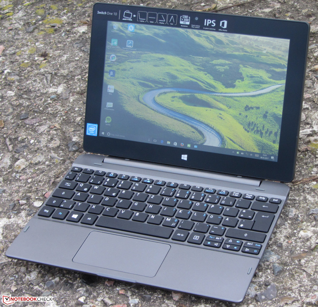 Acer Aspire Switch One 10 SW1-011-14UQ Notebook Review - NotebookCheck.net Reviews