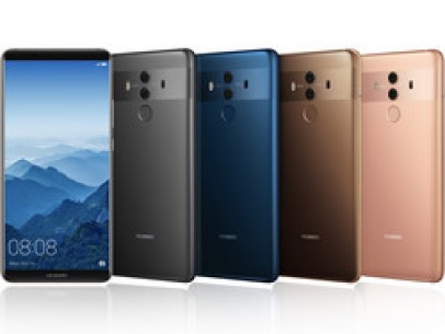 All color variations of the Huawei Mate 10 Pro.