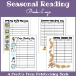 Freebie: Seasonal Reading Book Logs