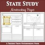State Study Notebooking Pages