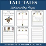 Freebie: Tall Tales Notebooking Pages