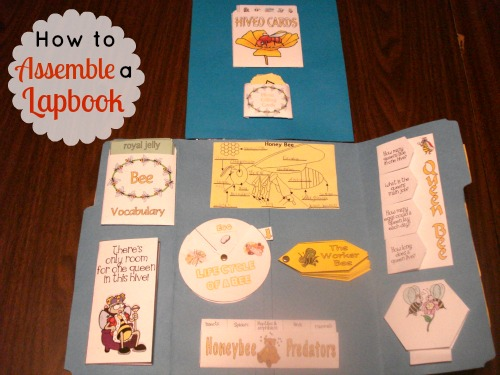 How To Assemble A Lapbook
