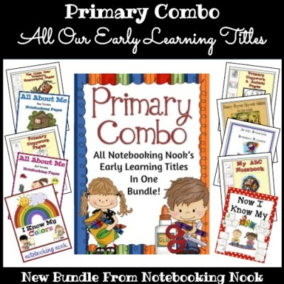 New Bundle: Primary Combo - All Notebooking Nook's Early Elementary Titles for One Low Price!