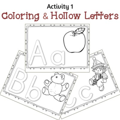 Now I Know My ABC's - Activity 1 Sample