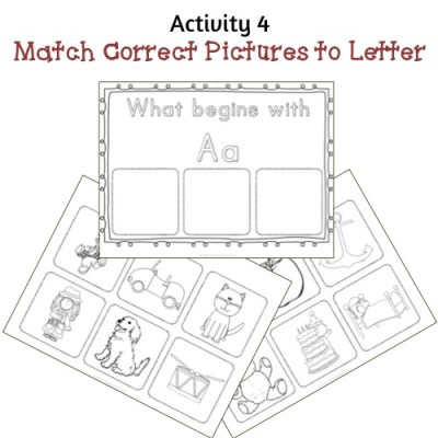 Now I Know My ABC's - Activity 4 Sample
