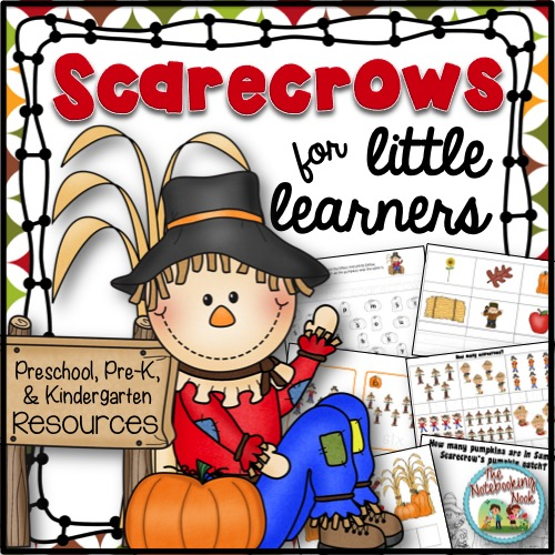Scarecrow Activity Packet for Little Learners