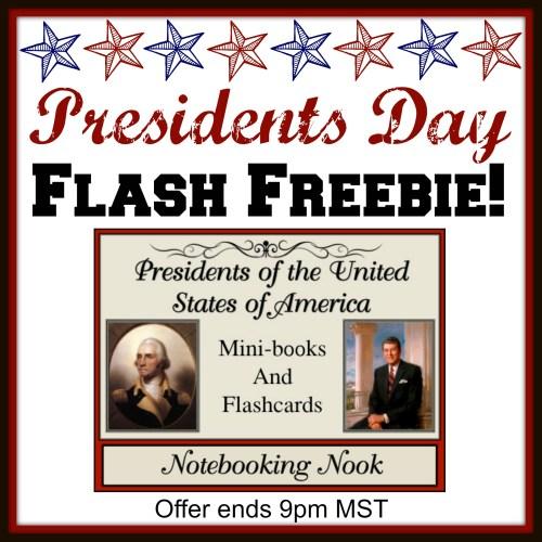 Presidents Day Flash Freebie
