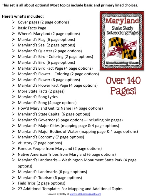 Maryland Revised NP Samples