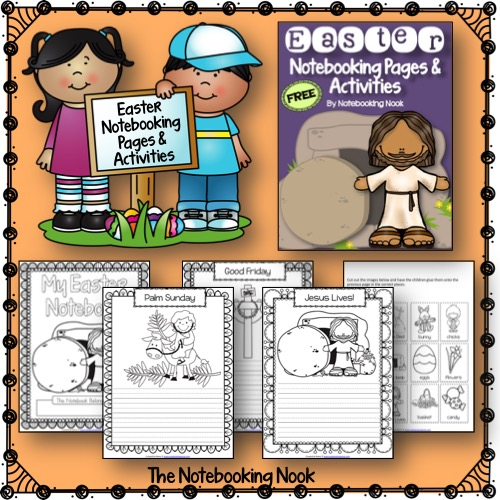 Free Easter Notebooking Pages from The Notebooking Nook
