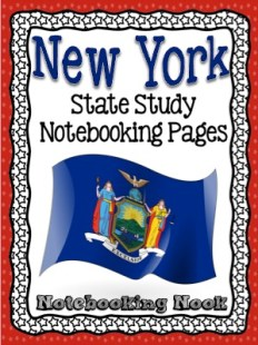 New York State Study Revised - The Notebooking Nook