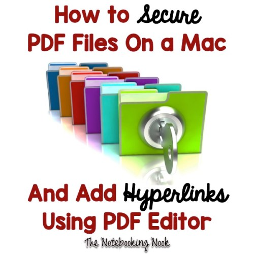 How to Secure PDF Files On a Mac and Add Hyperlinks Using PDF Editor