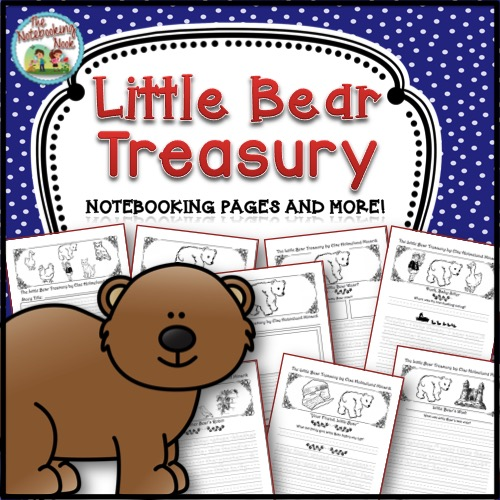 Little Bear Notebooking Pages