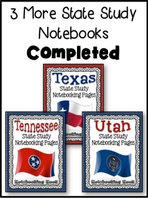 Tennessee, Texas, and Utah State Notebooks Revised