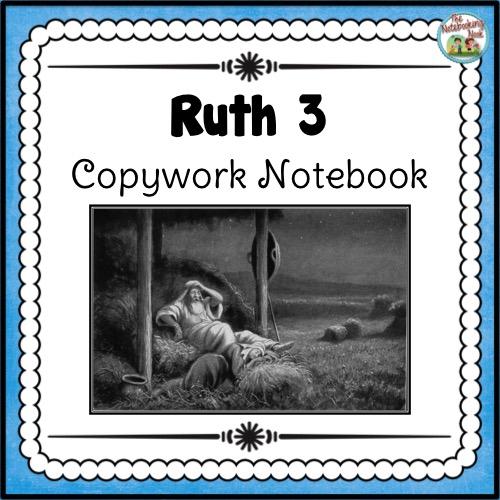 Ruth Copywork Notebook