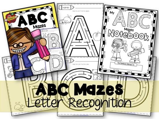 ABC Mazes Samples
