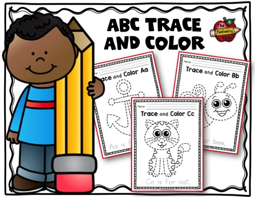 ABC Trace and Color Samples