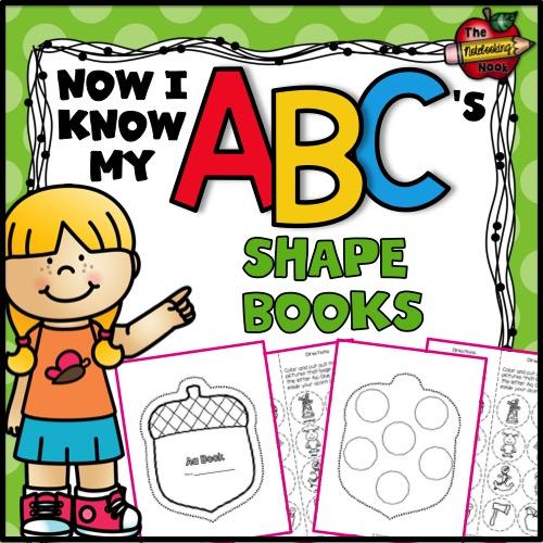 Now I Know My ABC's Shape Books