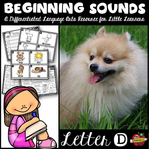 Beginning Sounds - Letter D