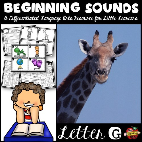 Beginning Sounds - Letter G