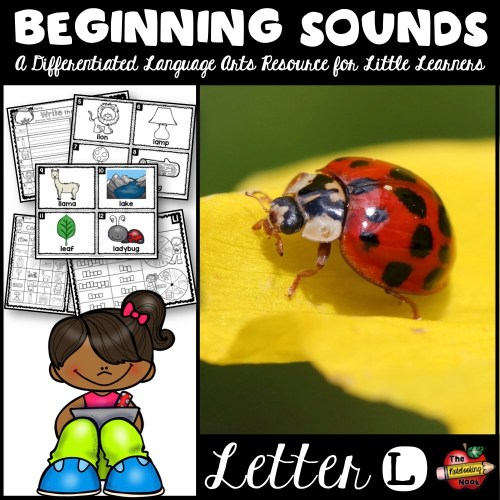 Beginning Sounds - Letter L