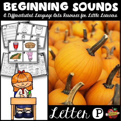 Beginning Sounds - Letter P