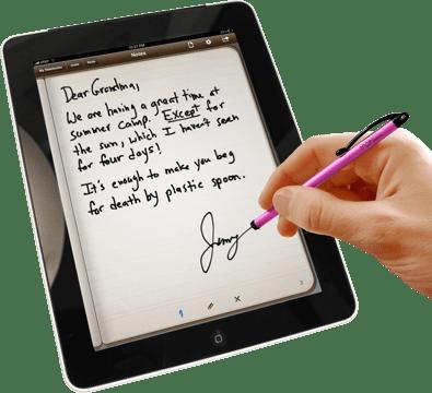 Catetan iPad