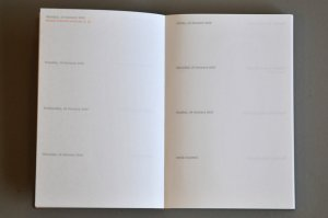 Typotheque Pocket Calendar 2010