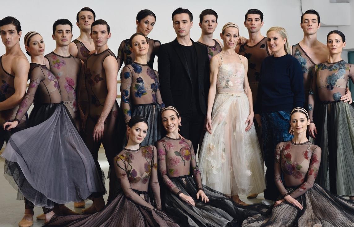 Una serata Dior per il corpo di ballo del Teatro dell'Opera