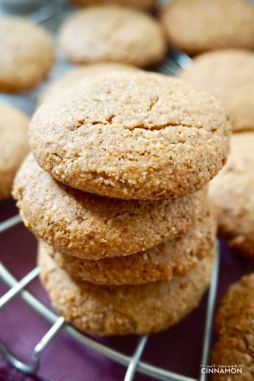 Gluten-free Chai Cookies (Refines Sugar-free Dairy-free ...