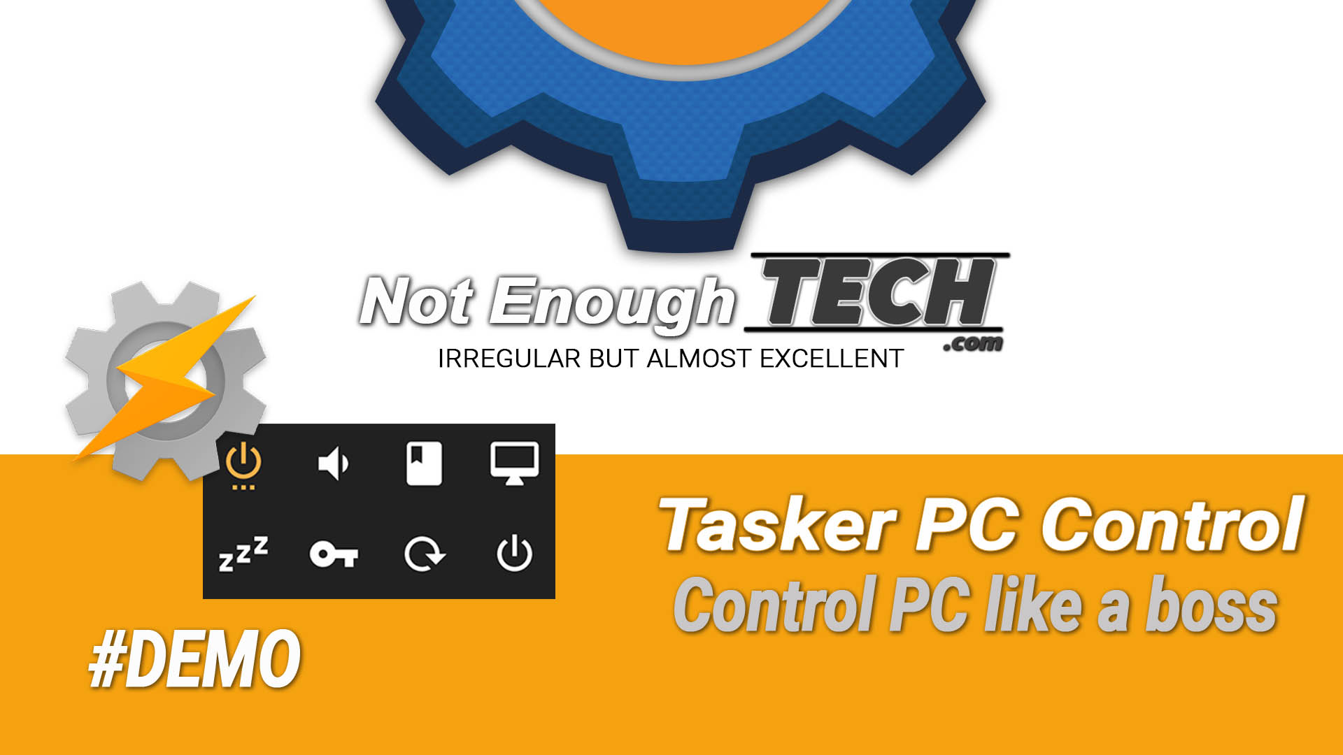 control PC with Tasker