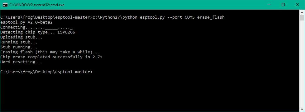 Flashing ESP8266 with NodeMCU (Windows, Linux, Arduino and