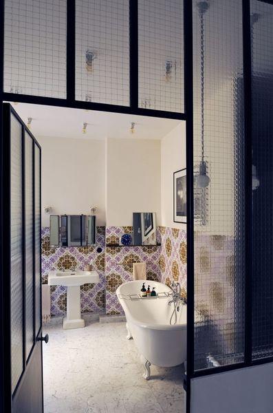 Verriere Opaque Salle De Bain - Décoration de maison idées de design ...
