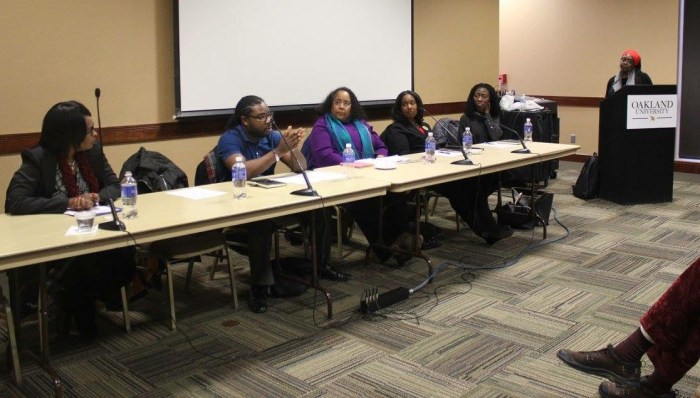 R Thompkins-Jones Panel at OU on Police Brutality, Social Justice, and the role of Higher Education