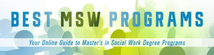 Best MSW Programs Logo