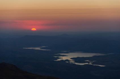 Sonnenaufgang auf dem Mt. Nemrut