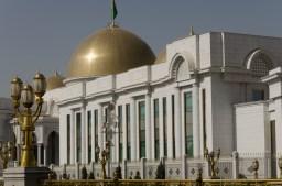 Präsidentenpalast. Fotografieren verboten!