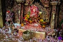 Bairab, eine Inkarnation Shivas, Bhaktapur